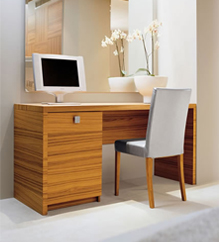Laminated wood furniture components