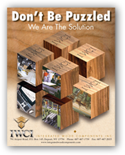 Point of purchase display, mdf components, particle board components, wood lamination & manufacturing brochure